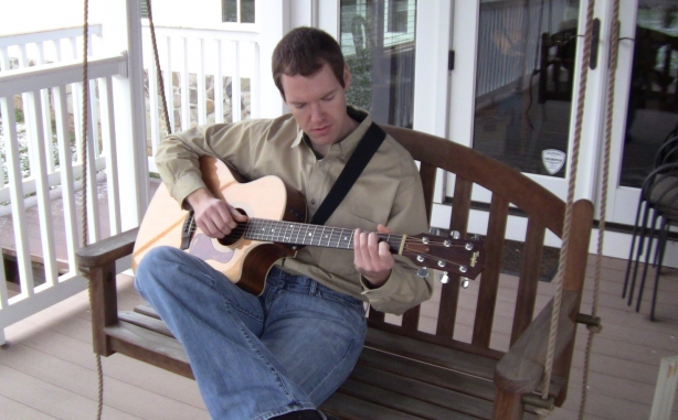 seated porch acoustic